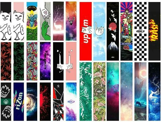 Get This Awesome Graphic Skateboard Grip Tape